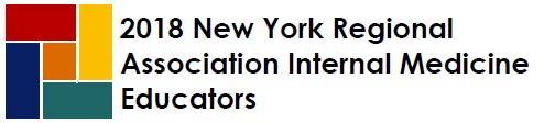 2018 New York Regional Association Internal Medicine Educators Banner