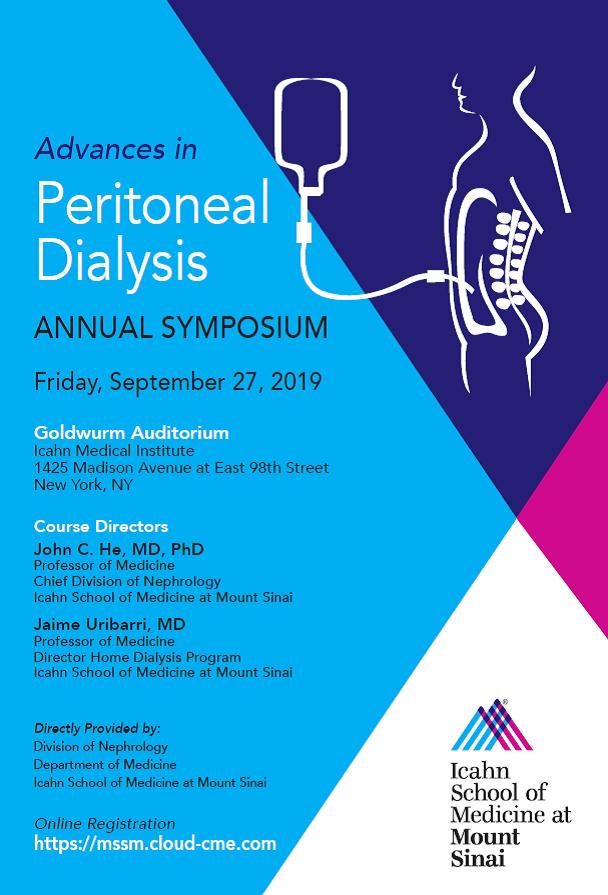 Advances In Peritoneal Dialysis: Annual Symposium Banner
