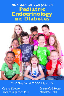 Eighteenth Annual Pediatric Endocrinology and Diabetes Symposium Banner