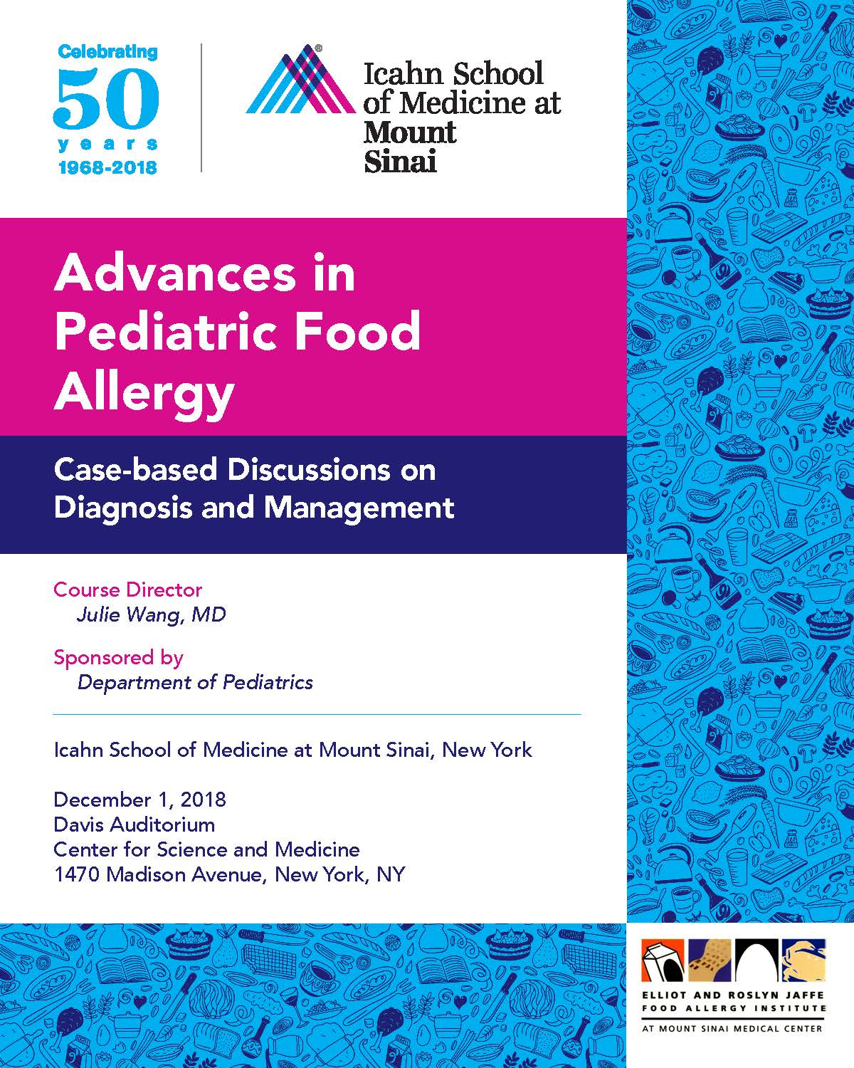 Advances in Pediatric Food Allergy Banner