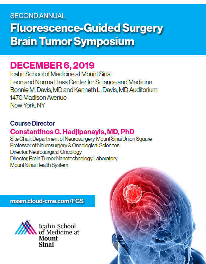 Second Annual Fluorescence-Guided Surgery Brain Tumor Symposium Banner
