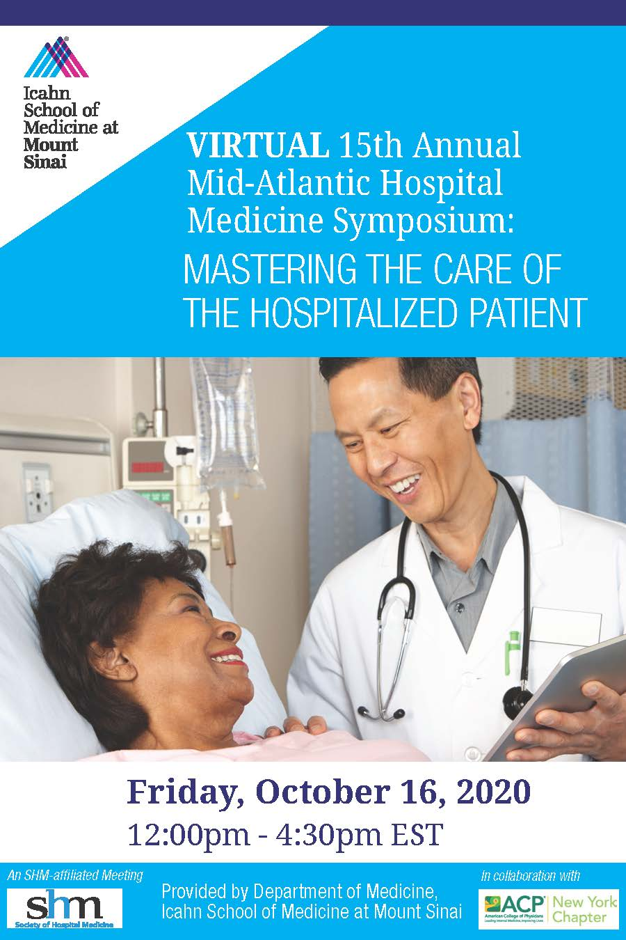Virtual 15th Annual Mid-Atlantic Hospital Medicine Symposium Banner