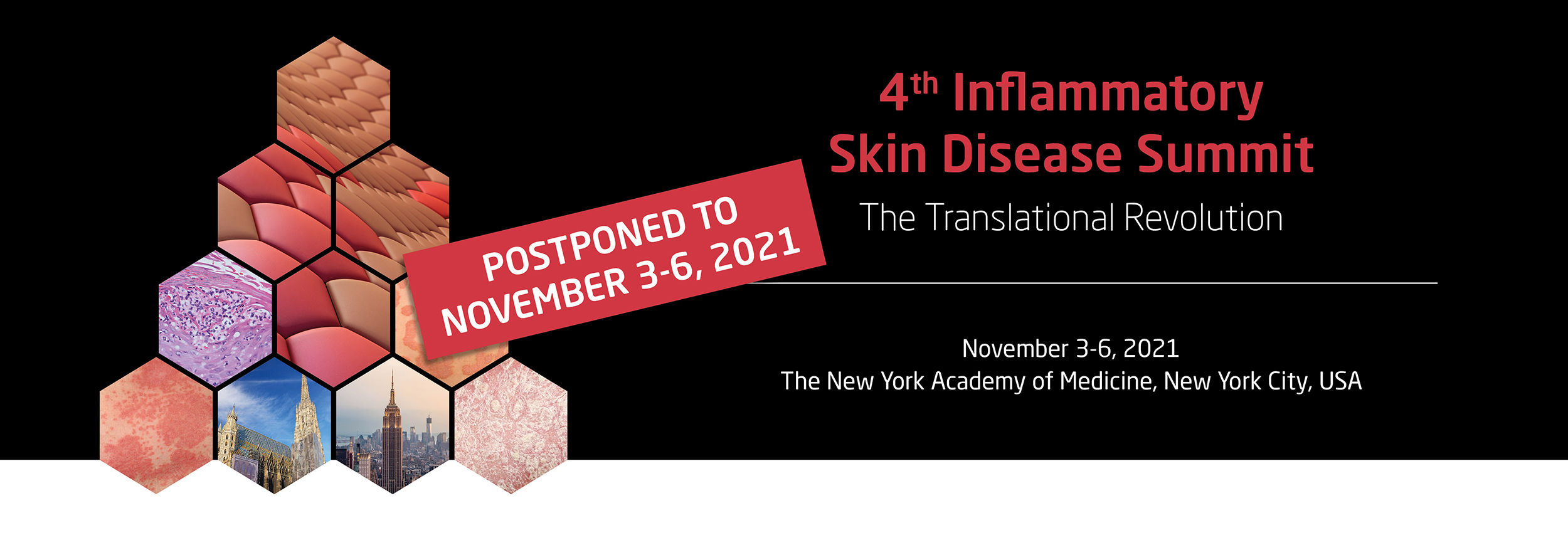 4th Inflammatory Skin Diseases Summit 2020: The Translational Revolution 	 Banner