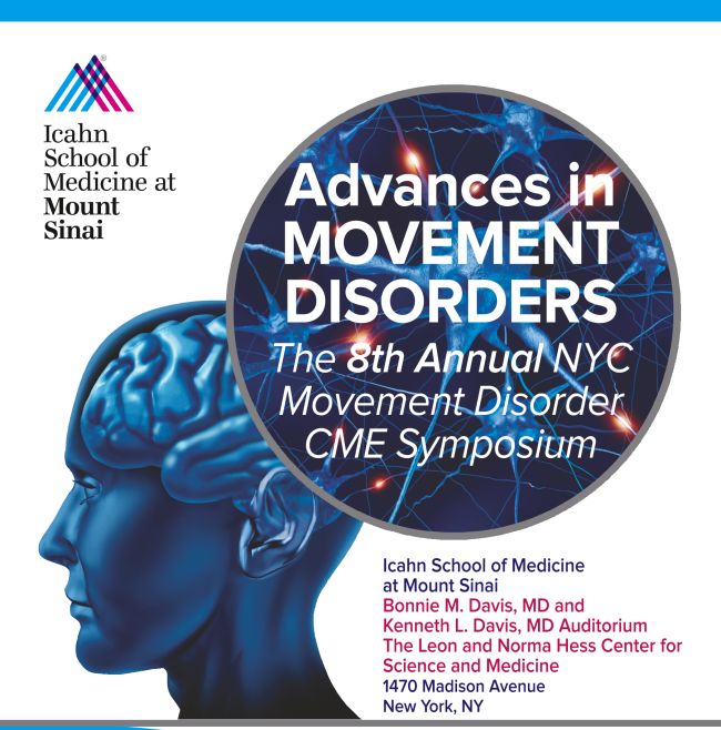 Advances in Movement Disorders: The 8th Annual NYC Movement Disorder Symposium Banner