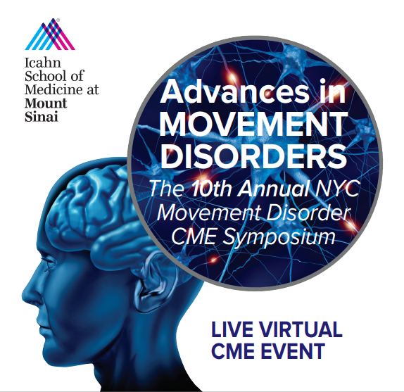 Advances in Movement Disorders: The 10th Annual NYC Movement Disorder CME Symposium Banner