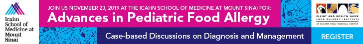 Advances in Pediatric Food Allergy: Case-based Discussions on Diagnosis and Management Banner