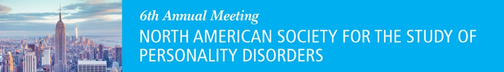 North American Society for the Study of Personality Disorders Annual Conference 2018 Banner
