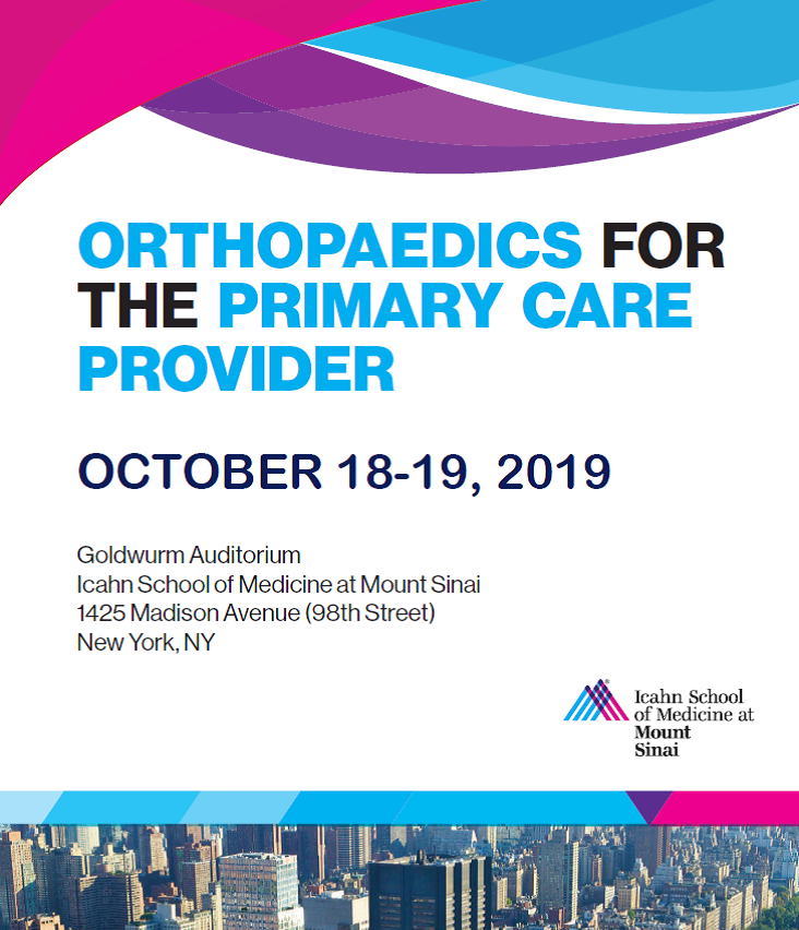 Orthopaedics for the Primary Care Provider Banner