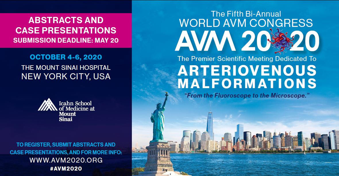 5th World AVM Congress, New York Banner
