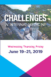 Challenges in Internal Medicine 2019 Banner